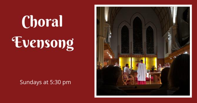 Choral Evensong - November 15, 2020 image