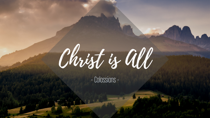 Colossians 3:1-11 - Jesus: Out With The Old
