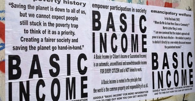 Guaranteed Basic Income image