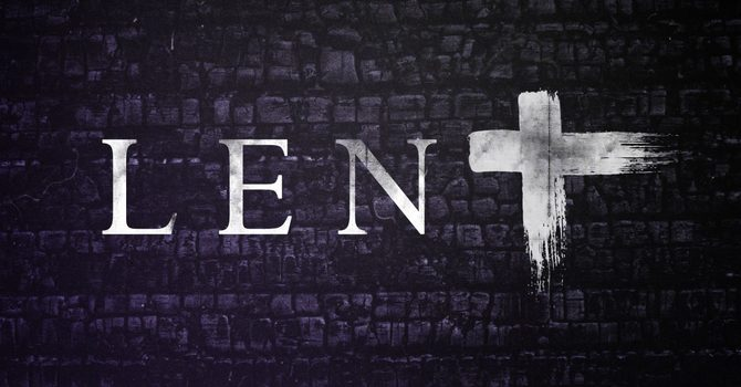 The Season Of Lent image
