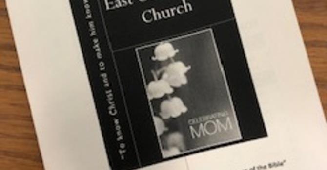 May 12, 2019 Church Bulletin image
