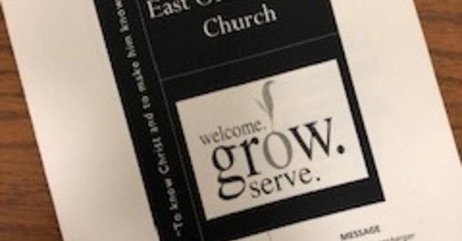 June 2, 2019 Church Bulletin image