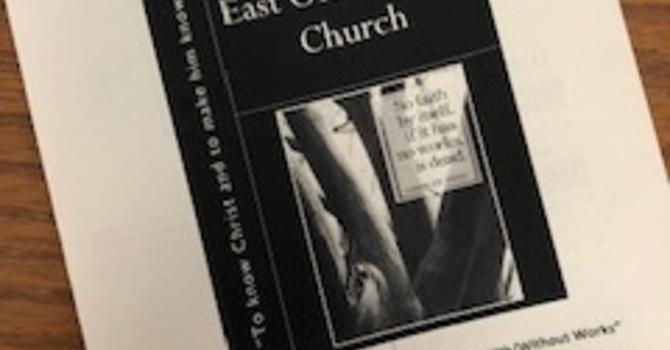 May 5, 2019 Church Bulletin image
