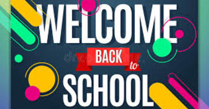 WELCOME BACK TO ALL FAMILIES AND STAFF image