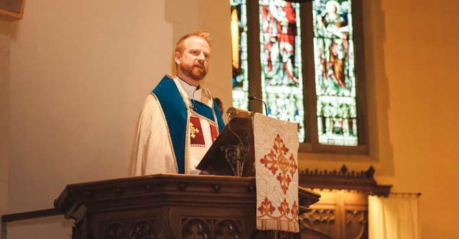 St. Paul's West End  Welcomes The Rev. James Duckett, Priest-in-Charge image