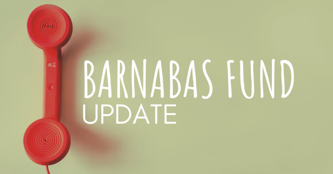 On Mission through the Barnabas Fund image