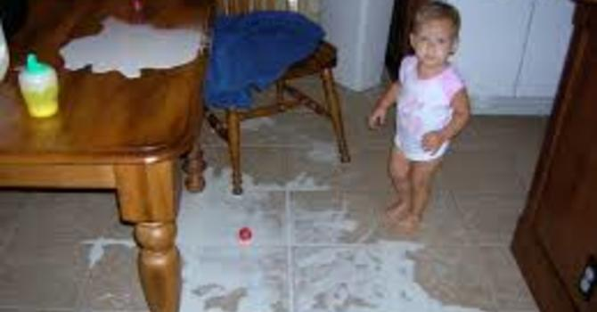 Two Steps Forward - An Allergic Reaction to Spilled Milk image