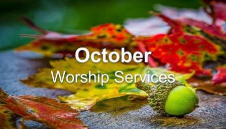October - Worship Series