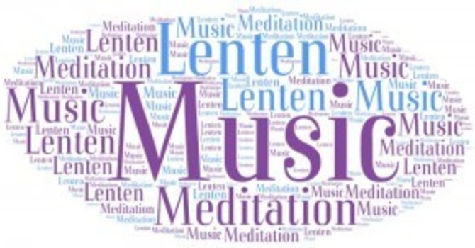 Meditative music comes to Lenten liturgy image