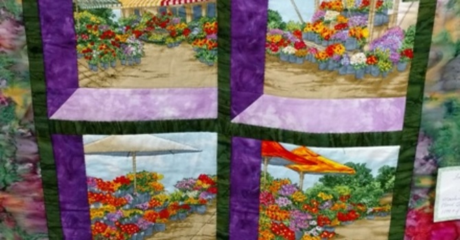 Quilts and Bake Sale image
