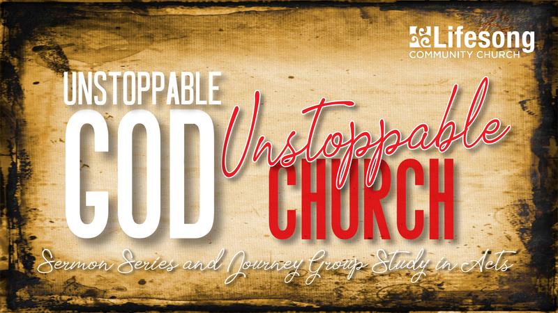 """Unstoppable God, Unstoppable Church"""