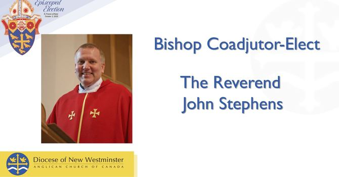 Bishop-Elect for the Diocese of New Westminster image