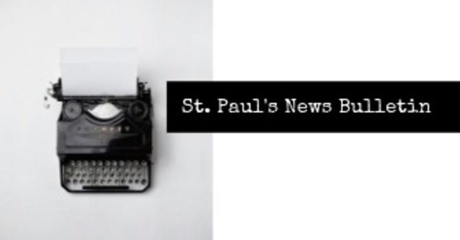 St. Paul's December 30th News Bulletin image