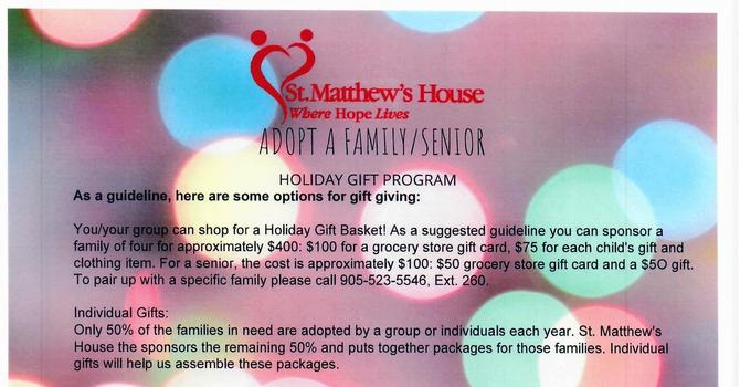 Christmas Adopt a Family/Senior image