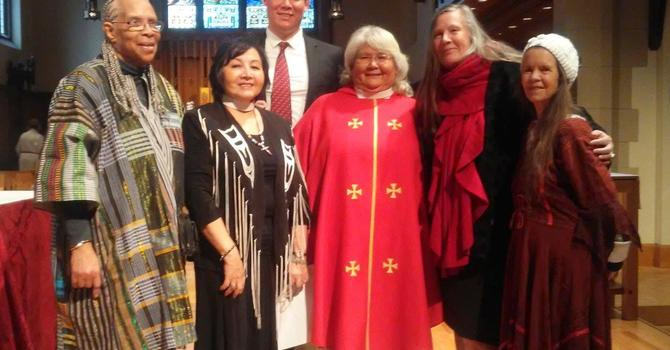 Vivian ordained to the priesthood image