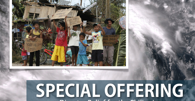 Disaster Relief for the Philippines image