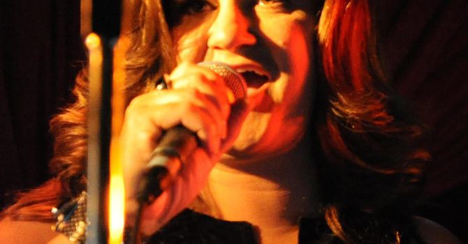 Guest vocalist Tracey Gabert at Gospel Good Friday image