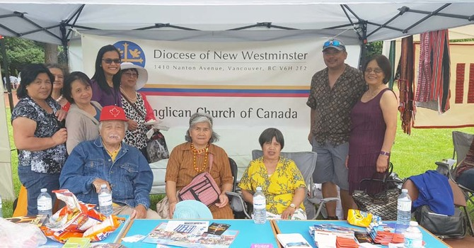Diocese of New Westminster Presence at Pista ng Bayan image