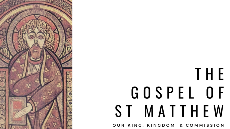 The Gospel of Jesus According to St. Matthew
