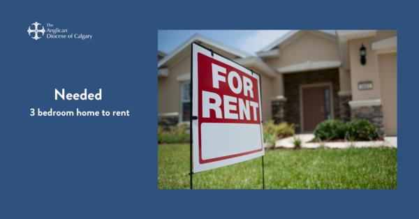 Three bedroom home rental needed in Calgary