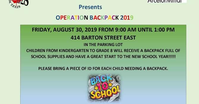 Operation Backpack 2019 image