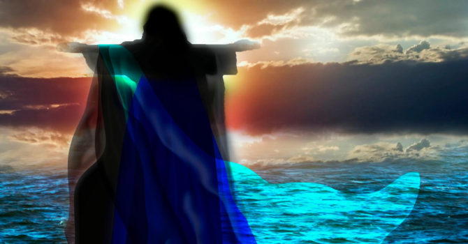 Story ~ Jesus Walks on Water image