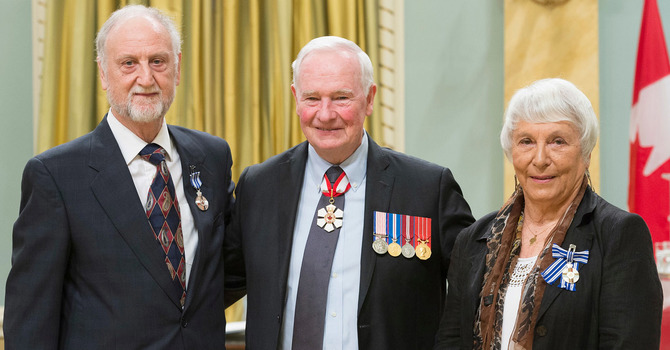 Crossleys Honoured in Ottawa image