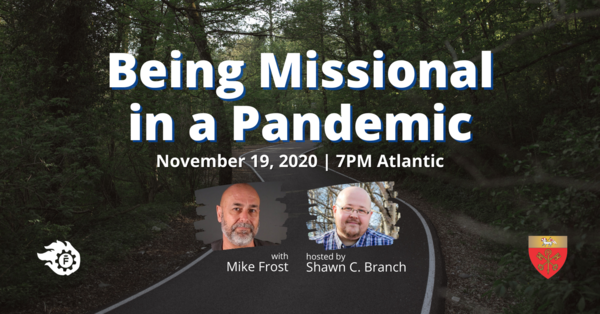 Being Missional in a Pandemic - THIS THURSDAY!