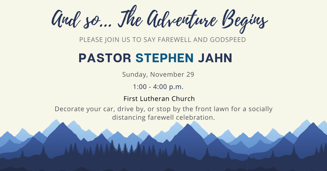 Farewell to Pr. Stephen Jahn