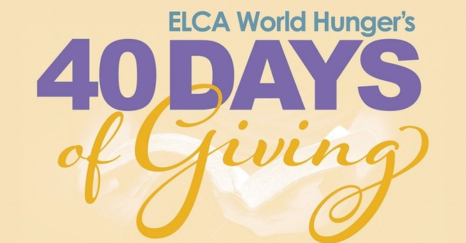 40 Days of Giving Collection To Be Online image
