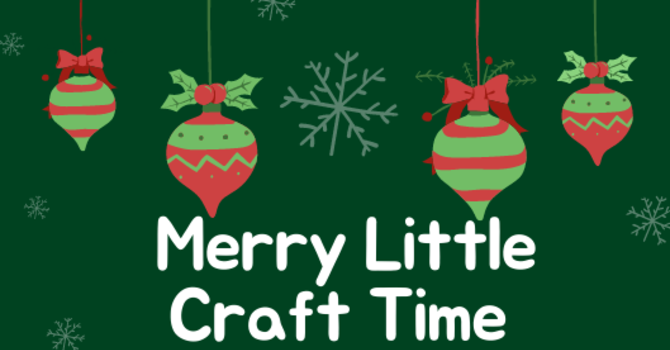 Merry Little Craft Time image