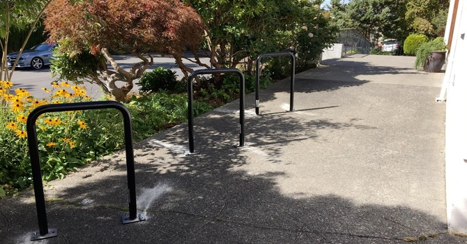 St Mary's becomes bike-friendly image