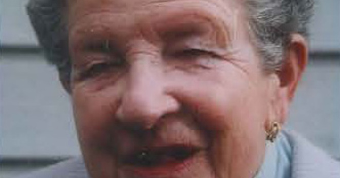 The Reverend Patricia Reed  1920 - 2013 image
