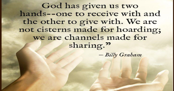 Hoarding our Love of God (S)