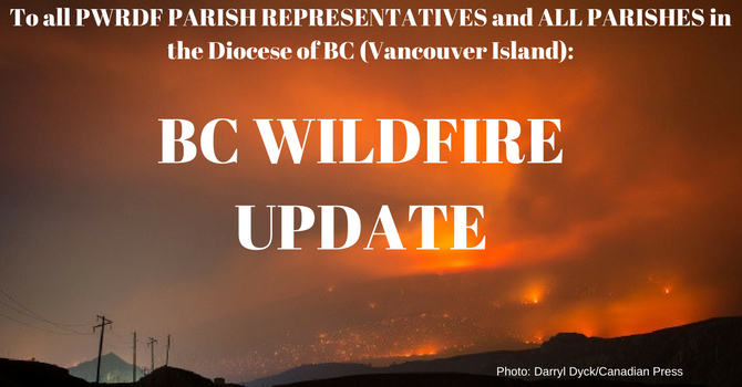 BC WILDFIRES - HOW YOU CAN HELP image