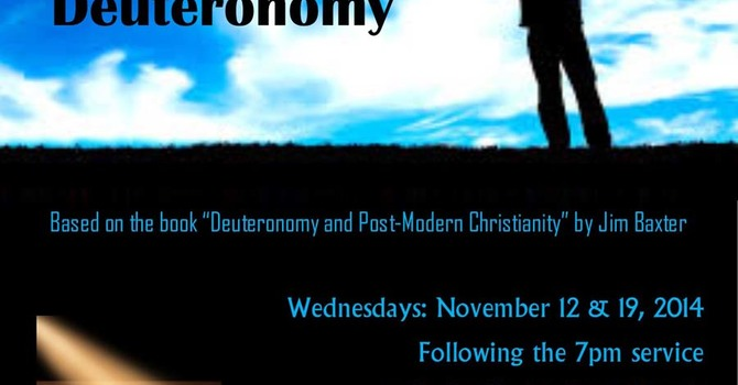 A New Christianity and Deutoronomy image
