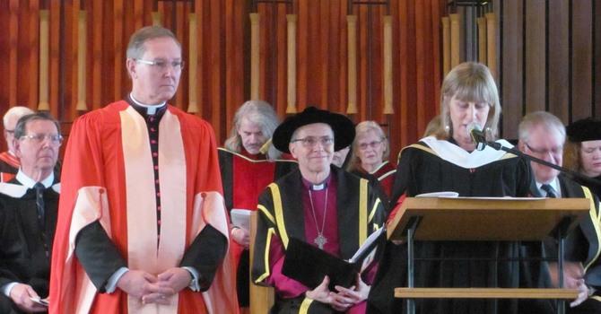 The Venerable Douglas Fenton Receives Honorary Degree image
