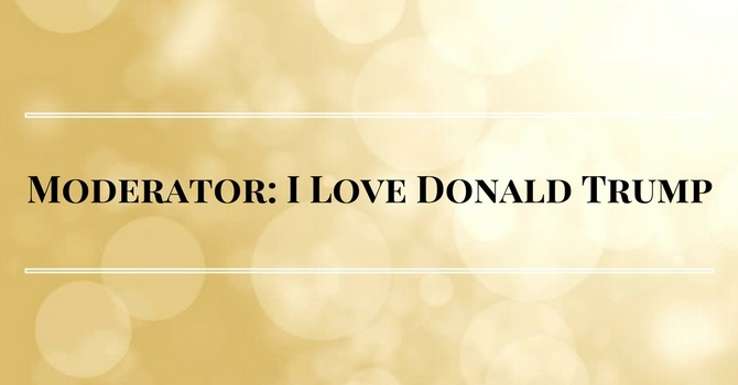 United Church Moderator Reflects on Loving Donald Trump image