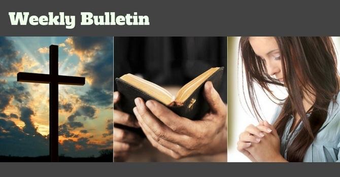 Bulletin | January 7, 2018 image