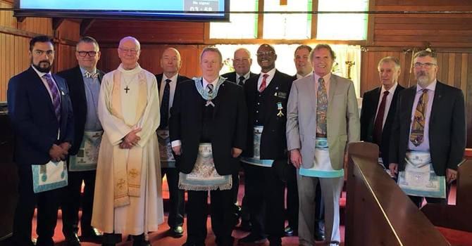 Visit of the Masons image