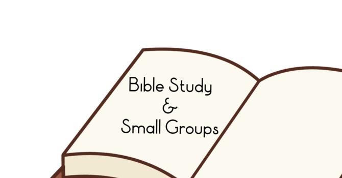 Christmas Small Groups and Bible Studies! image