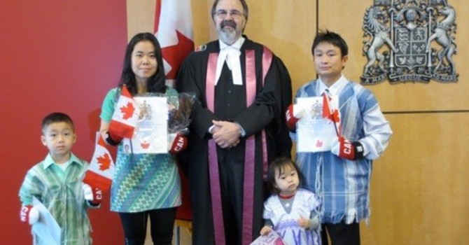 Canadian Citizenship Ceremony image