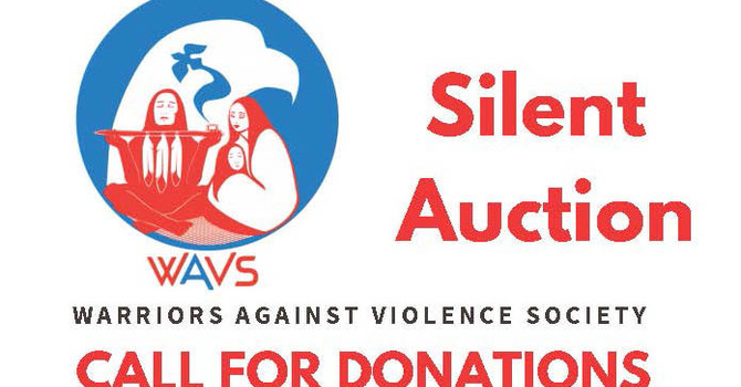 Warriors Against Violence Society - Silent Auction image