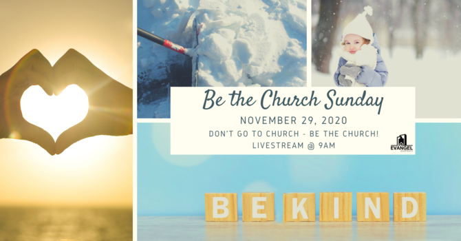 Be the Church Sunday