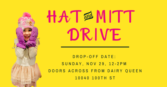 Hat and Mitt Drive!