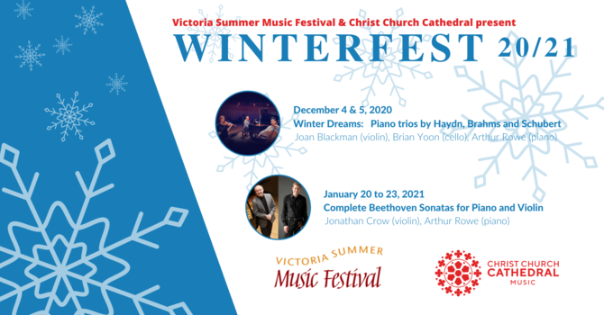 "Victoria Summer Music Festival brings ""Winterfest"" to the cathedral image"