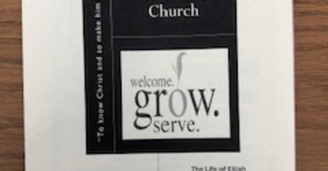 February 9, 2020 Church Bulletin image