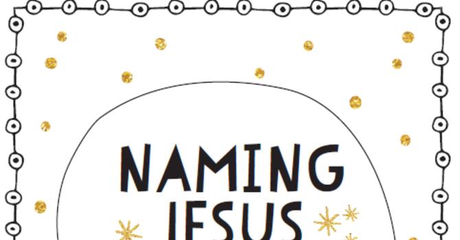 Naming Jesus image