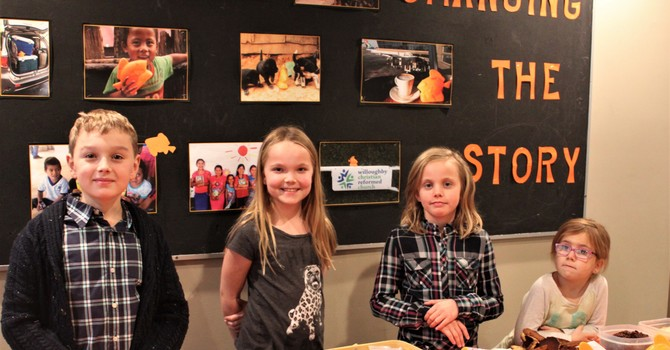 SONLiFE Kids Trade Cookies for Coins to end World Hunger  image