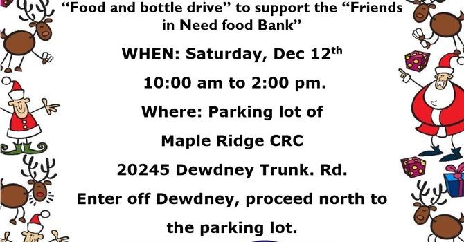 Christmas Bottle Drive